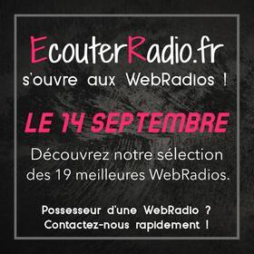 Les WebRadios débarquent sur EcouterRadiofr